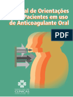 Manual para tratamento de anticoagulantes oral