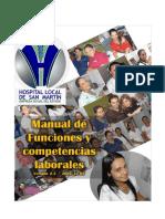 Manual de Funciones hospitalario