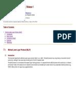 Minimal Lower Layer Protocol