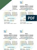 Panfleto Empresa Delivery m&j