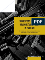 New Guns Policy for Pakistan by BrassTacks