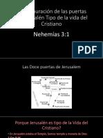 La Restauración de Las Puertas de Jerusalén Tipo
