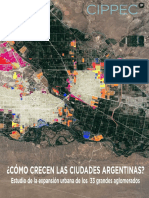 CIPPEC - Cómo Crecen Las Ciudades Argentinas