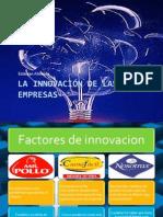 La innovación de las empresas