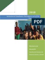 Orientaciones Proyecto Población Extranjera en EPJA 2018