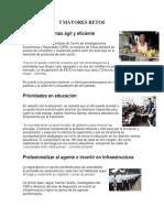 5 Mayores Retos Guatemala, El Estado y Su Forma de Gobierno