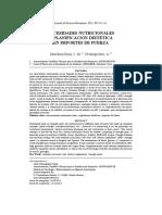 LR N°6 - Necesidades Nutricionales y Planificación Dietetica en Deporte de Fuerza por Martínez-Sanz y