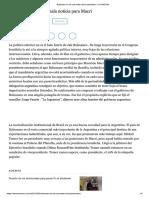 Bolsonaro No Es Una Mala Noticia Para Macri