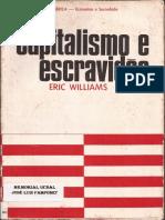 Capitalismo e Escravidão - Eric Williams