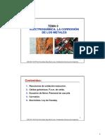 Tema 9 Electroquimica