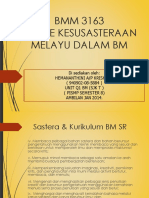 Bmm3163Genre-Kesusasteraan-Melayu-