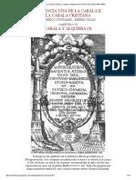 La Cábala Cristiana. Cábala y Alquimia (4)_ Heinrich Khunrath (1560-1605)