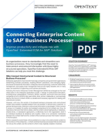 Opentext So Extended Ecm for Sap Solutions En