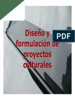 Diseño de Proyectos Culturales
