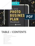 2015 Photo Business Plan Workbook