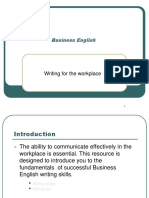 Business English - Writing Workplace1