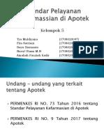 Materi 5 Standar Pelayanan Kefarmassian Di Apotek