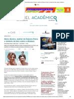 Painel Acadêmico Notícias Morre Eunice, Mulher de Rubens Paiva e Símbolo Da Luta Contra a Ditadura