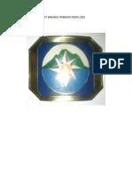 Contoh Tanda Topi Unit Brigade Pramuka Penolong