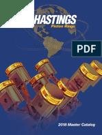 Hastings 2M4217020 4-Cylinder Piston Ring Set