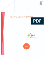 CERCIBEJA | Plano de Atividades 2019