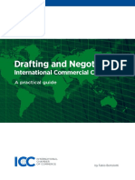 ICC Drafting and Negotiating International Commercial Contracts 2013