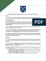 Draft UWCA Constitution