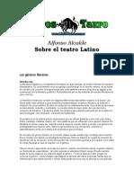 Alcalde Ferrer, Alfonso - Sobre El Teatro Latino