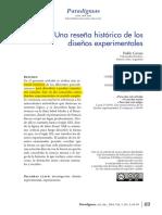 Dialnet-UnaResenaHistoricaDeLosDisenosExperimentales-4942051