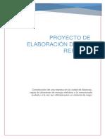 Proyecto de Elaboracion de Una Represa
