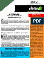 Cidade Em Debate Informativo Eletrônico n 06