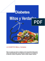 Los Mitos Sobre La Diabetes
