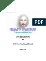 ISAVASYA UPANISHAD