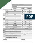 weekly training schedule 2018-2019 01-14