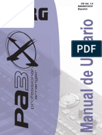 Manual PA3x