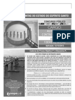 Auditor de Controle Externo - Conhecimentos Básicos Para Todas as Áreas - Caderno de Prova - Tipo 1