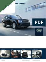 L320 Range Rover SPORT Catálogo 2013 3900-12 ES