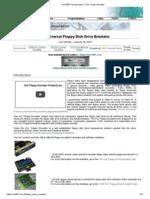 Arburg Floppy Disc Drive genuine