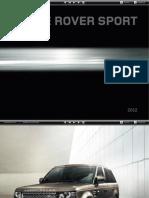 L320 Range Rover SPORT Catálogo 2012 USA 3713-11