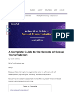 Sexual Transmutation_ a Definitive Guide to Sexual Energy