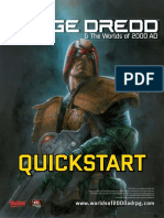 Judge Dredd & the Worlds of 2000 AD Quickstart