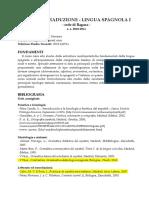 Bibliografía Lingua I (2010-11)