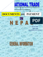 Trade and Payment Documents -Nepal