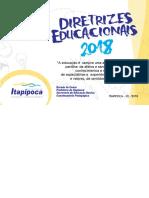 Diretrizes educacionais 2018