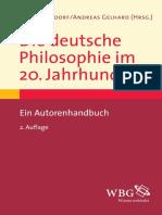 Deutsche Philosophie 20.Jahrhundert