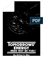 1979 - Arthur C. Aho - Tomorrow's Energy ...Need Not Be Fuel!-Txt-opt