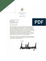 Trump responds Pelosi
