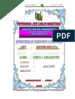 Estructuras de Transporte y Conduccion