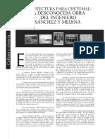 arquitectura de Chetumal.