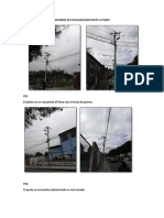 Fotos e Informe hoja de estacamiento